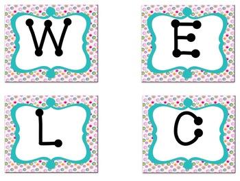 Bulletin Board Set: Sweet Treat Back To School Set EDITABLE