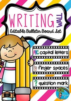 Bulletin Board Set: Writing Wall {US VERSION}