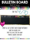 Bulletin Board Set - You are Capable of AMAZING Things