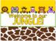 Bulletin Board Setup {Jungle-Safari Themed}