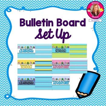Bulletin Board Setup {Ocean Themed}
