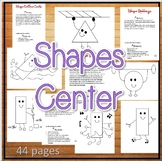Shapes Bulletin Board Ideas for public and home school