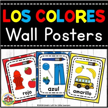 Bulletin Board Spanish Color Wall Posters
