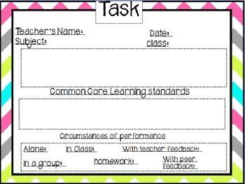 Bulletin Board Task Description Template