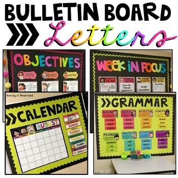 Bulletin Board Titles