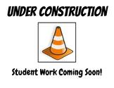 Bulletin Board Under Construction Sign