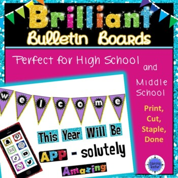 Bulletin Board Set WELCOME APP-solutely Amazing Year