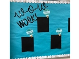Bulletin Board- WOW WORK!