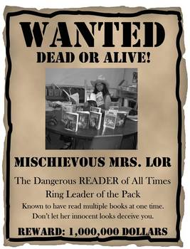 "Bulletin Board ""Wanted Readers"" Theme"
