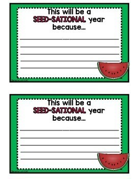 Bulletin Board Watermelon Writing Pages (K-3)