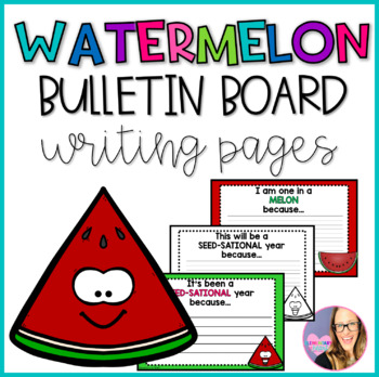 Bulletin Board Watermelon Writing Pages
