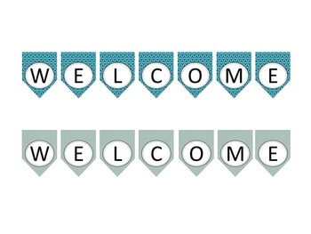Bulletin Board Welcome Banners