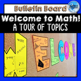 Bulletin Board | Welcome to Math Class