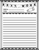 Bulletin Board Writing Paper and Writing Checklists for Mu
