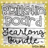 Bulletin Board Yearlong Bundle