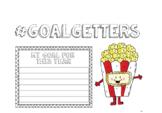 Bulletin Board display lettering - #goalgetters