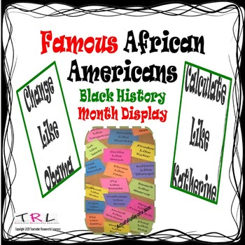 Display for Black History Month