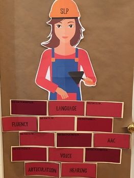 Bulletin Board for Speech or Elementary Ed: Laying the Foundation