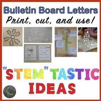 "Bulletin Board for Your STEM Lab  ""STEM"" tastic IDEAS"