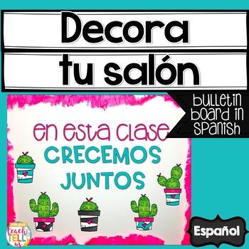 Bulletin Board in Spanish - Mural