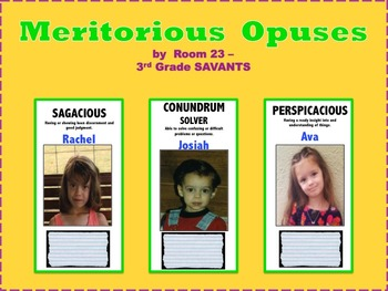 Bulletin Board that increases Vocabulary, Reading Comprehension, and motivates.