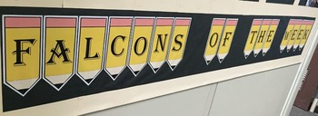 Bulletin Boards: Alphabet & Sign Language Pencils & How Do You Measure Up?
