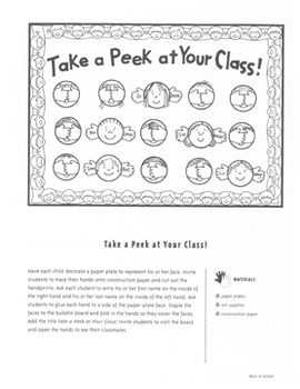 Bulletin Boards: Ideas for Back-to-School and Fall