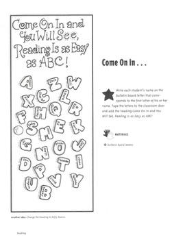 Bulletin Boards: Ideas for Reading