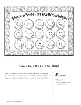 Bulletin Boards: Ideas for Student Work and Behavior