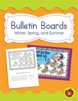 Winter Bulletin Board Ideas Worksheets Teachers Pay Teachers