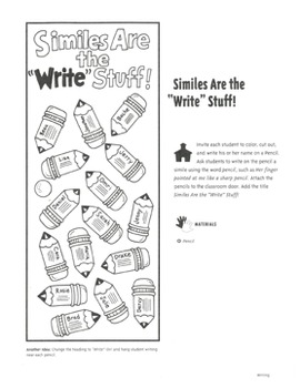 Bulletin Boards: Ideas for Writing