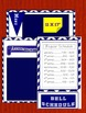 Bulletin Board Poster Set for Upper-Level Grades (Blue and White)