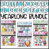 Bulletin Boards and Classroom Door Decor for the ENTIRE YEAR!