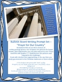 """Bulletin Boards for Christian Schools, Writing Prompt """"Pra"""