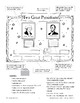 Bulletin Boards for February: Presidents and Coordinate Pairs