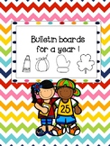 Bulletin Boards for a whole year!