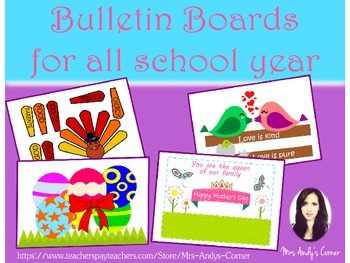 Bulletin Boards for all the year