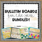 Bulletin Boards for the Year! | With Writing Prompts