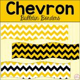 Printable Bulletin Board Borders-Chevron