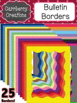 Page Frames Clip Art: Classic Bulletin Borders {Personal & Commercial Use}