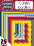 Page Frames Clip Art: Classic Bulletin Borders {Personal &