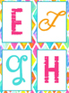 Bulletin Letters Bright and Bold Themed | Classroom Decor