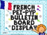 Bulletin board French PEI Enhanced PYP FRENCH