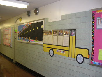 Bulletin board 'Road To Kindergarten'