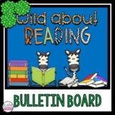 Library/Reading Bulletin board ~ Safari theme