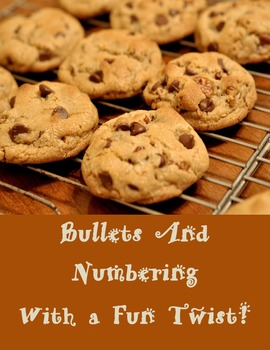 Bullets and Numbered Lists in Microsoft Word With a Fun Twist!