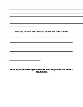 Bullfrog at Magnolia Circle MI & Details / Text Quest page 8-11&16-25