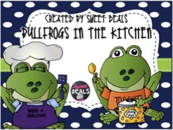 Bullfrogs in the Kitchen FREEBIE