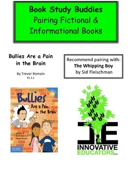 Bullies Are a Pain in the Brain-Pairing Fiction and Informational Books
