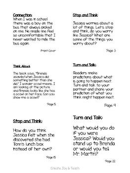 Bullies Never Win Interactive Read Aloud